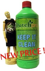 KEEP IT CLEAN by Dutch Pro