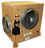 EXTRACTOR FANS - WOOD INSULATED Acoustic Box Fan